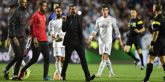 Apa Punca Simeone Masuk Padang Selepas Ronaldo Jaringkan Gol