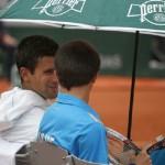 Gelagat Novak Djokovic Dengan Ballboy Pada Tenis Terbuka Perancis Sangat Menyentuh Perasaan