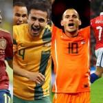 Kedudukan Pasukan Dalam Kumpulan Piala Dunia 2014