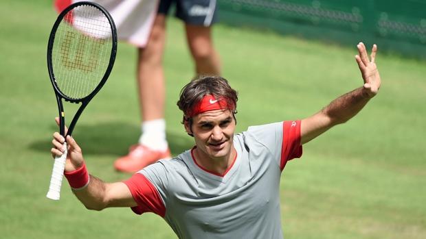 Roger Federer Tidak Sedar Bahawa Dia Sudah Menang Perlawanan Di Terbuka Gerry Webber