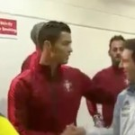 Video Kemesraan Ronaldo Dan Messi Sebelum Perlawanan Portugal vs Argentina