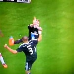 Video Pepe Menendang Sergio Ramos