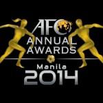 Senarai Pemenang Anugerah AFC 2014