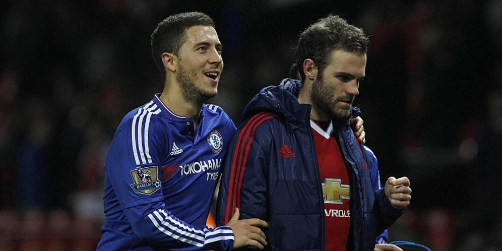 Persahabatan Hazard dan Mata Tetap Erat Walaupun Berlainan Kelab