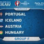 EURO 2016 : Jadual dan Keputusan Kumpulan F