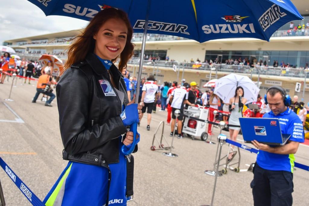 Gambar Gadis Litar Motor GP Amerika 2016 1