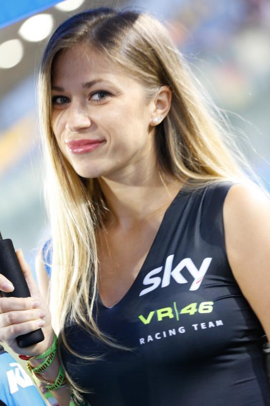 Gambar Gadis Litar Motor GP Qatar 2016 5
