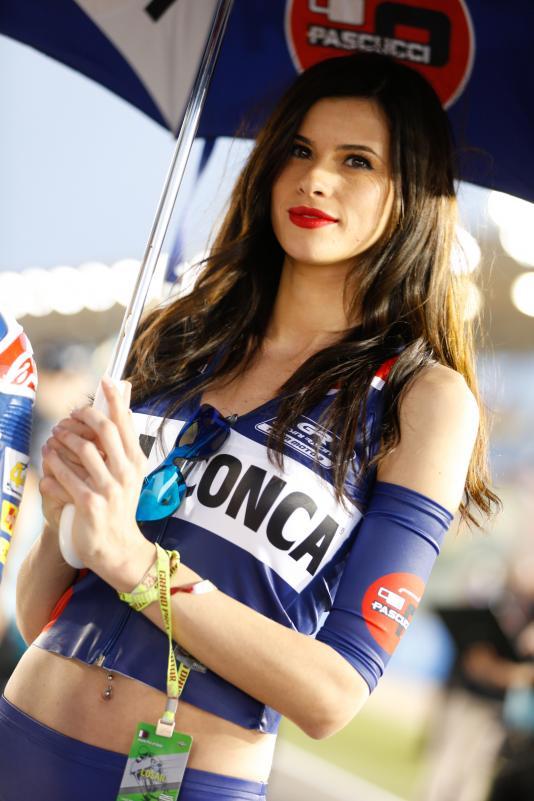 Gambar Gadis Litar Motor GP Qatar 2016 8