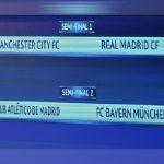 Undian Separuh Akhir Liga Juara-Juara