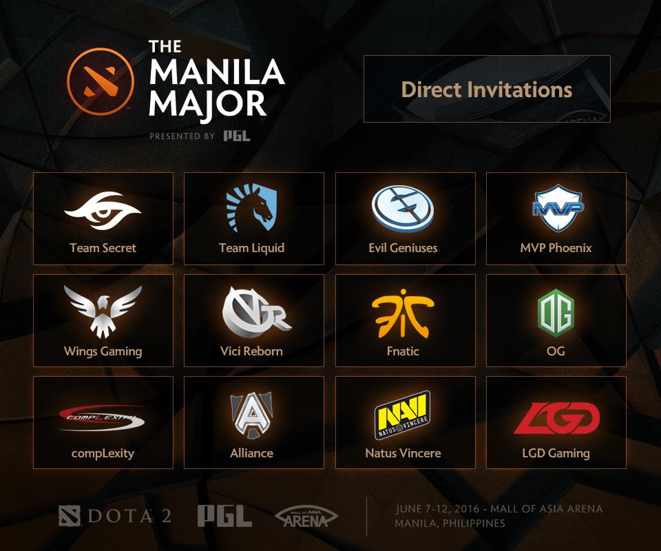 manila major dota 2 direct invite