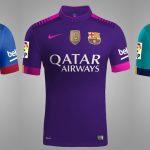 3 Jersi Barcelona Untuk Musim 2016-17 (Bocor)