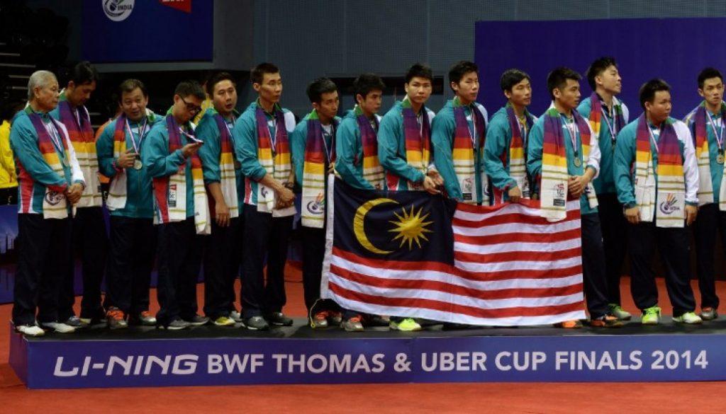 Naib Juara Piala Thomas 2014