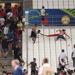 Video Rusuhan Penonton Selepas Perlawanan England vs Russia EURO 2016