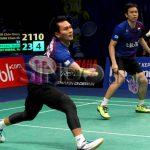 Badminton Terbuka Indonesia : Hendra/Ahsan Mara Ke Pusingan Kedua