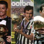Senarai Pemenang Ballon d'Or Dari Tahun 1956 Hingga Kini